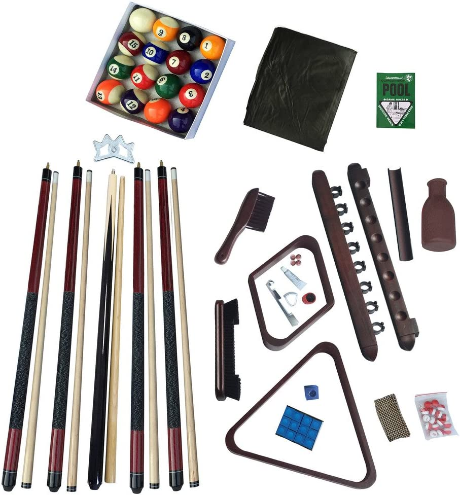 Hathaway Deluxe Kit de accesorios de billar - BG2540M, Acabado ...