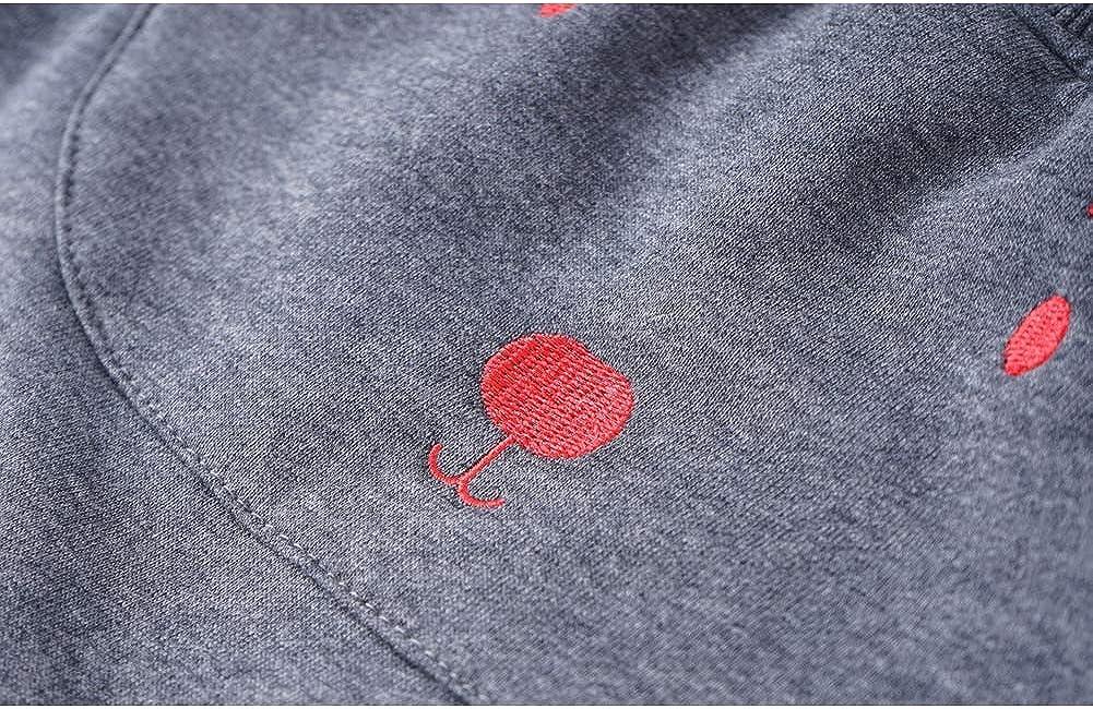 Baby Toddler Boys Pants Fleece Winter Jogger Trousers Animal Design Pants