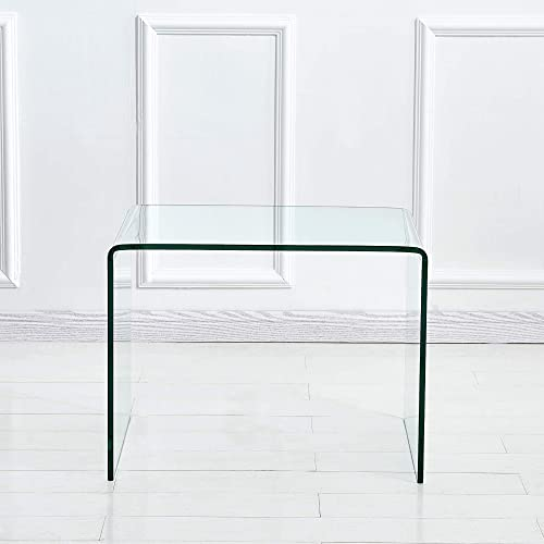 Depointer Life Glass End Table