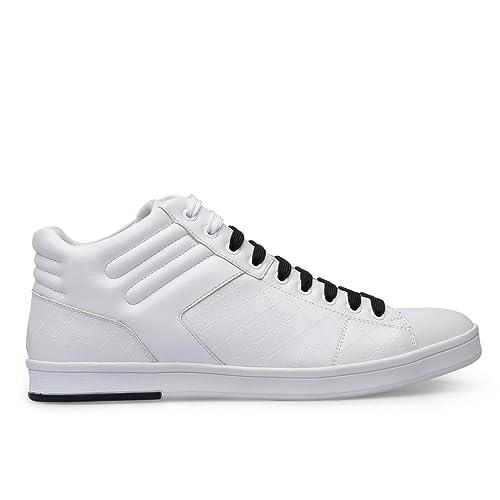 & # xFEFF; Deportivas Hugo Boss Hombre rayadv 50322356hb460b Blanco ig064rayadv-50322356hb460b Blanco Size: 40: Amazon.es: Zapatos y complementos