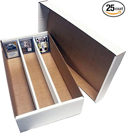 Nascar Hockey SUPER Shoe 3-Row Storage Box 6 Basketball Gaming /& Trading Cards Collecting Supplies by MAX PRO - Cardboard Storage Box Baseball,Football 3000 Ct. Sportscards