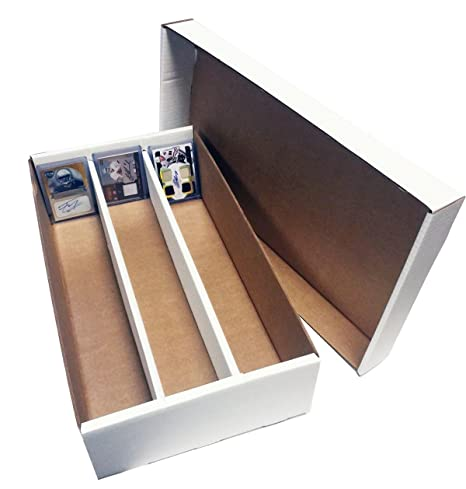 Verzamelkaarten: sport 3-75 COUNT TOPLOADER CARDBOARD STORAGE BOXES Trading Sport Card Holder Case Verzamelingen