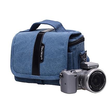 Lienzo Messenger bolsa de la cámara para Olympus Sony Nikon ...