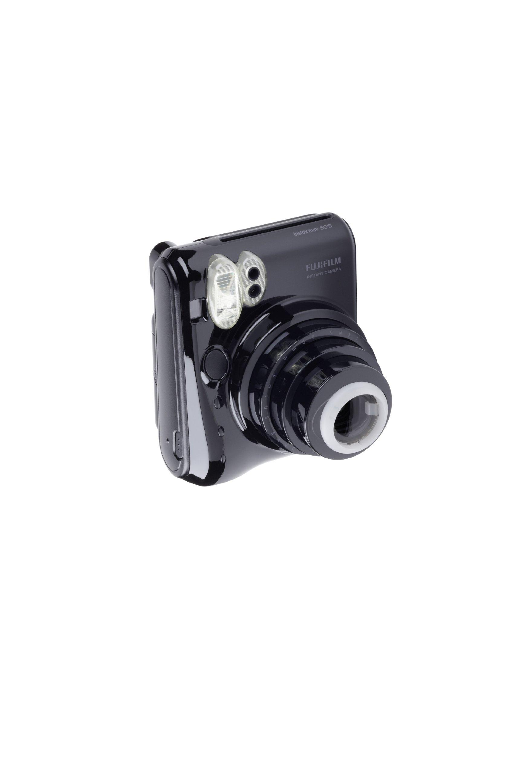 Fujifilm Instax Mini 50S Camera (Piano Black) by Fujifilm