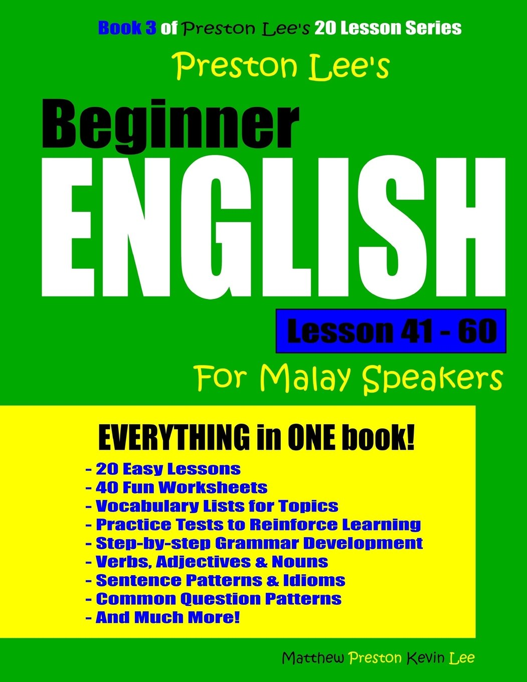 Download Preston Lee's Beginner English Lesson 41 - 60 For Malay Speakers pdf