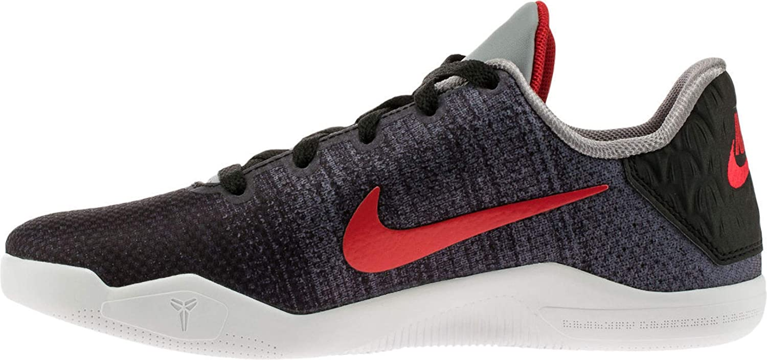 77dbf79a9beb Nike Kid s Kobe XI Elite GS Basketball Shoes 7Y M US Black Grey Red   Amazon.ca  Shoes   Handbags