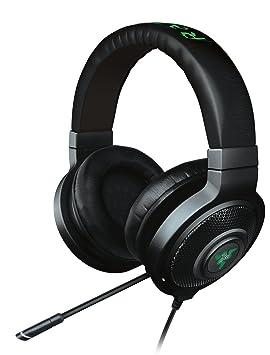 Razer Kraken 7.1 Chroma Binaural Diadema Negro Auricular con micrófono - Auriculares con micrófono (PC