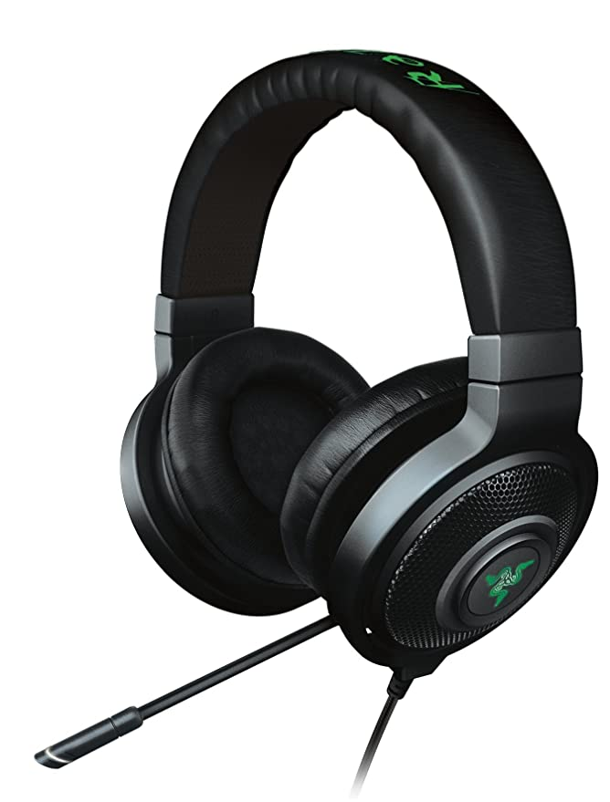 Razer Kraken 7.1 Chroma Binaural Diadema Negro Auricular con micrófono - Auriculares con micrófono (PC/Juegos, 30 MA, Binaural, Diadema, Negro, ...