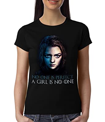 bfc33ffc6 GeekDawn Women's Half Sleeve T Shirt | Round Neck T Shirt | 100% Cotton  T-Shirt | Short Sleeve Tshirt|Geek T Shirt|TV Series|Games of  Thrones|GOT|Arya ...