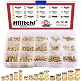 Hilitchi 250-Pcs M2 / M3 /M4 Female Thread Brass