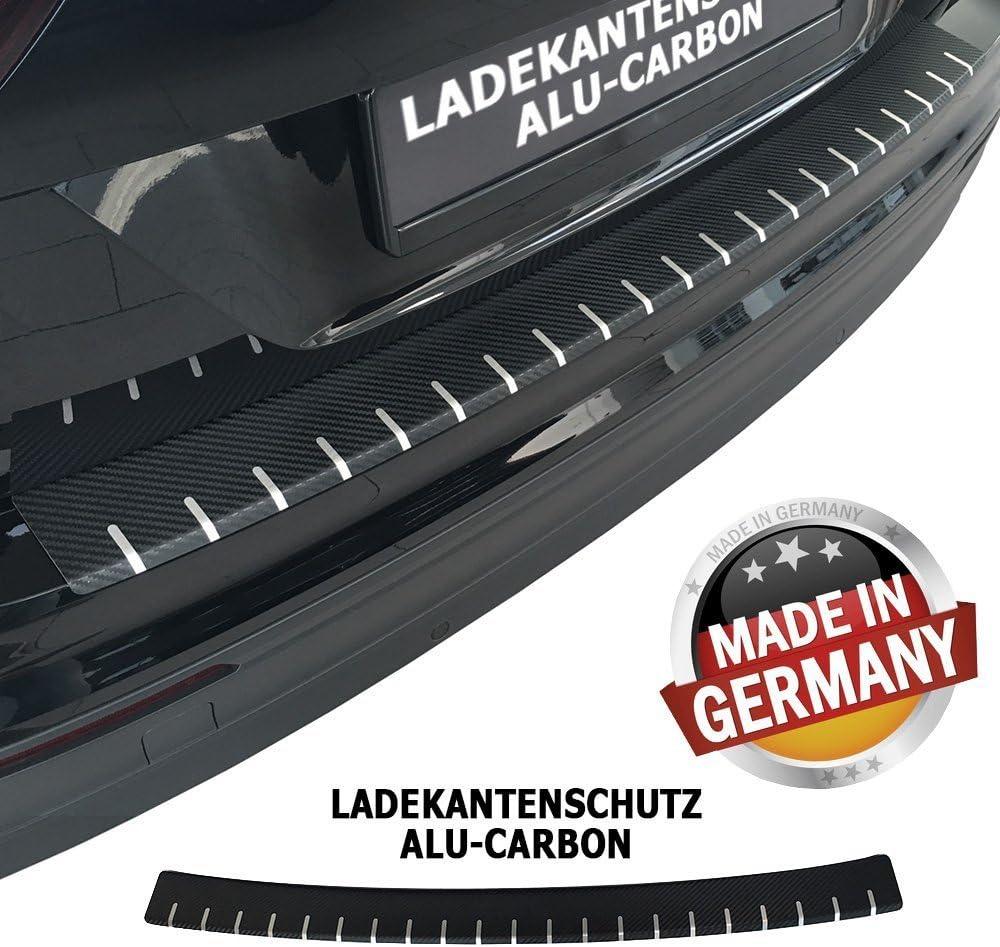 Tuneon 379 Ladekantenschutz Aus Alu Carbon Für Qashqai J11 Bis Bj 05 2017 Auto
