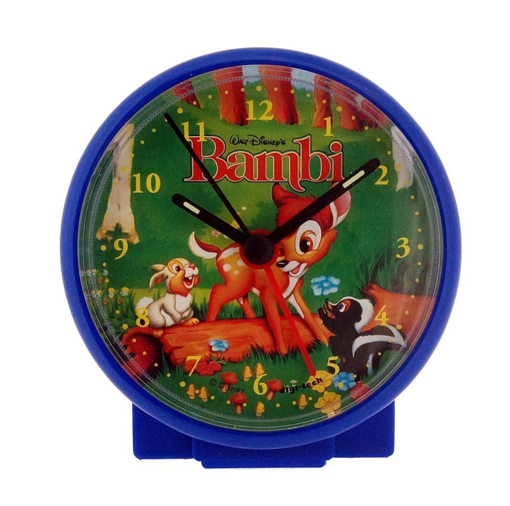DigiTech Sveglia e cronometro, Plastica, Blau Bambi, 10 x 4 x 10 cm Digi-Tech WD-43783