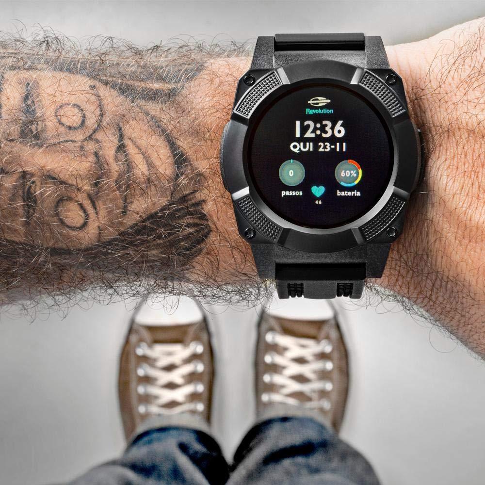1da9a42838a64 Relógio Masculino Mormaii Smartwatch MOSRAB 8P - Preto  Amazon.com.br   Celulares e Telefonia