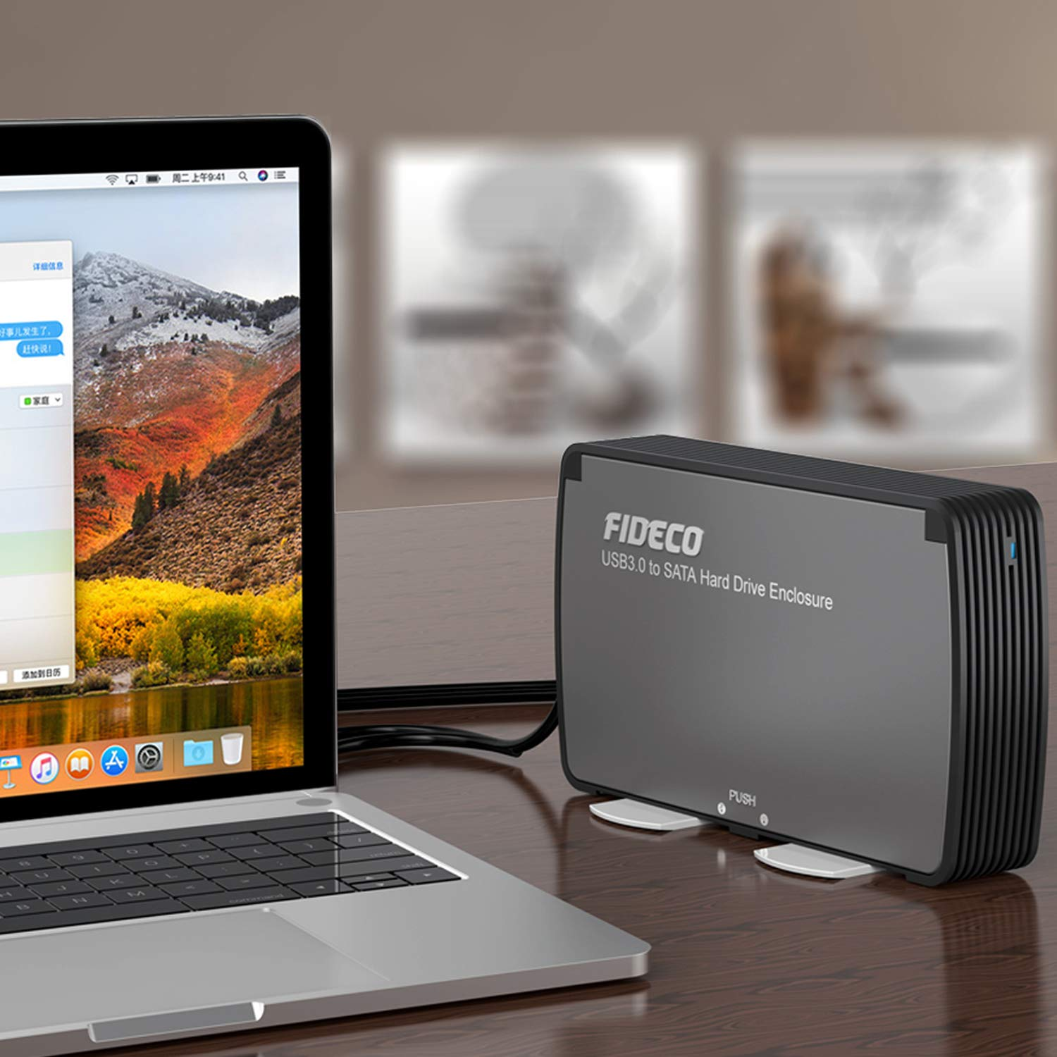 Amazon.com: FIDECO Disco Duro Externo Recinto, USB 3.0 SATA ...