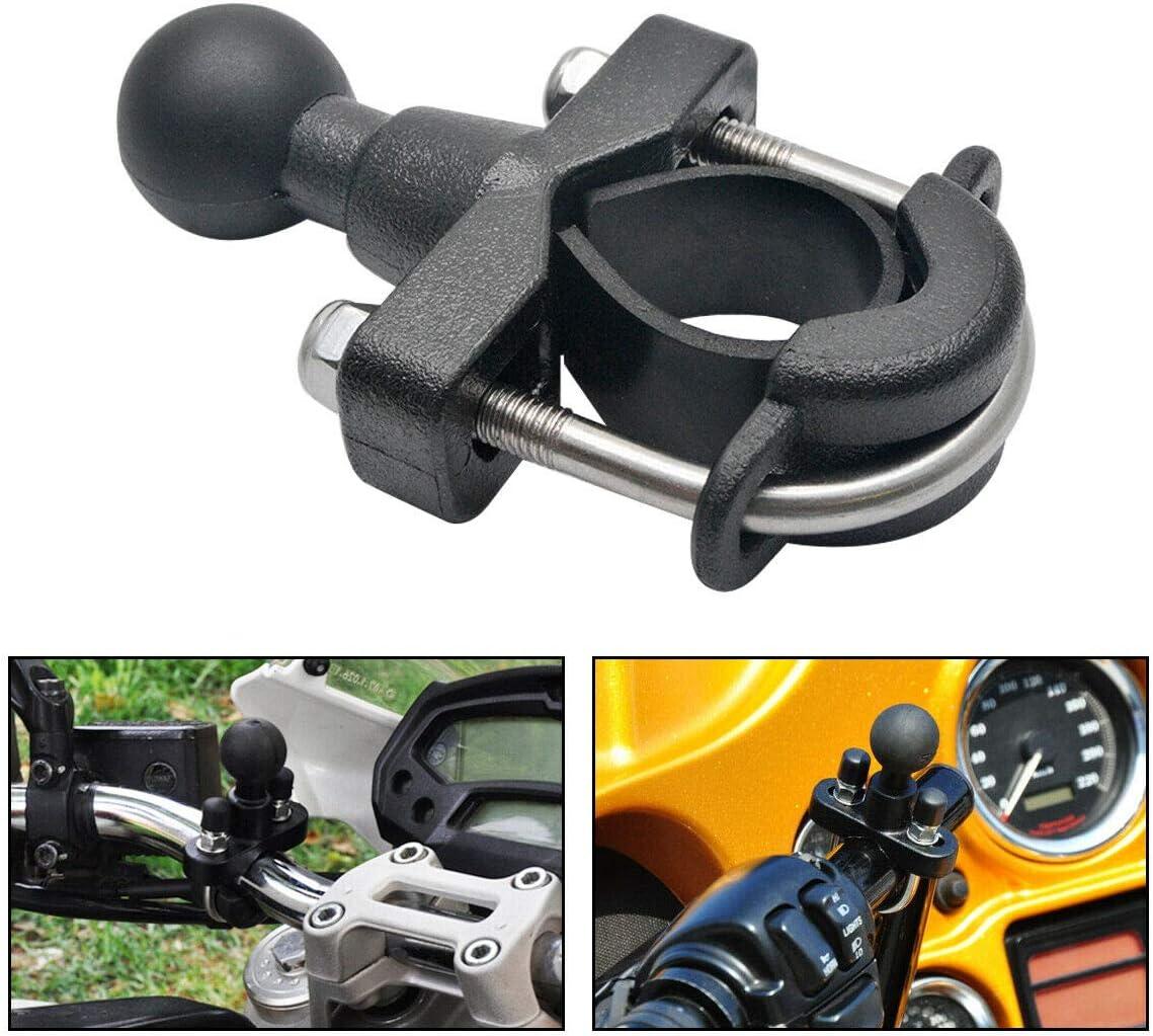 bola de 1 Maso Ram Kit de base de perno en U para manillar de motocicleta de 3//4-1 1//4