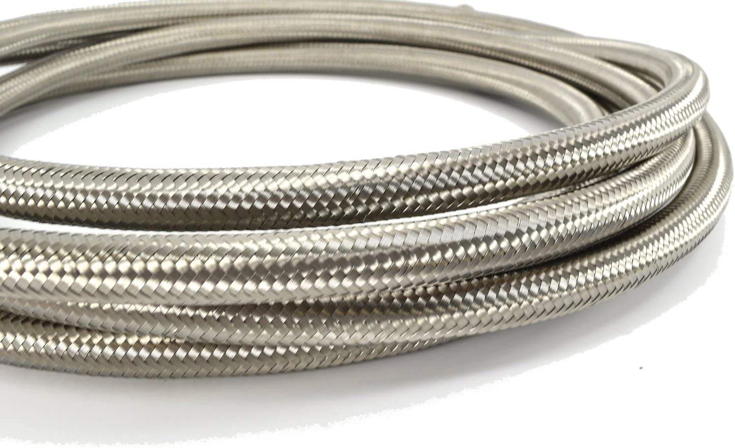 PTFE Braided Stainless Steel Lines per ft. -6 AN