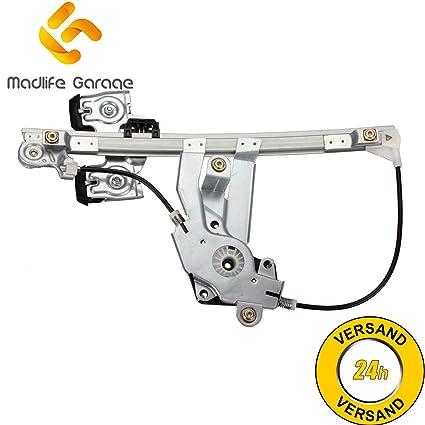 madlife Garage 1u0839462b acoplador de Elevalunas sin motor trasera derecha