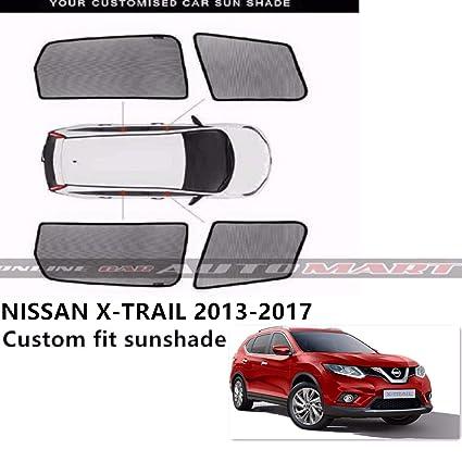 Amazon.com  Car Window Sunshades Sun shades Sun Visor For Nissan X-Trail YR  2013-2017 - 4pcs  Automotive e1b6586447f