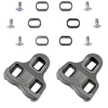 4414de2ff 2 x Compatible Cleats for Look Keo Pedals Type Angle 9º and Wellgo R096  3014 GR