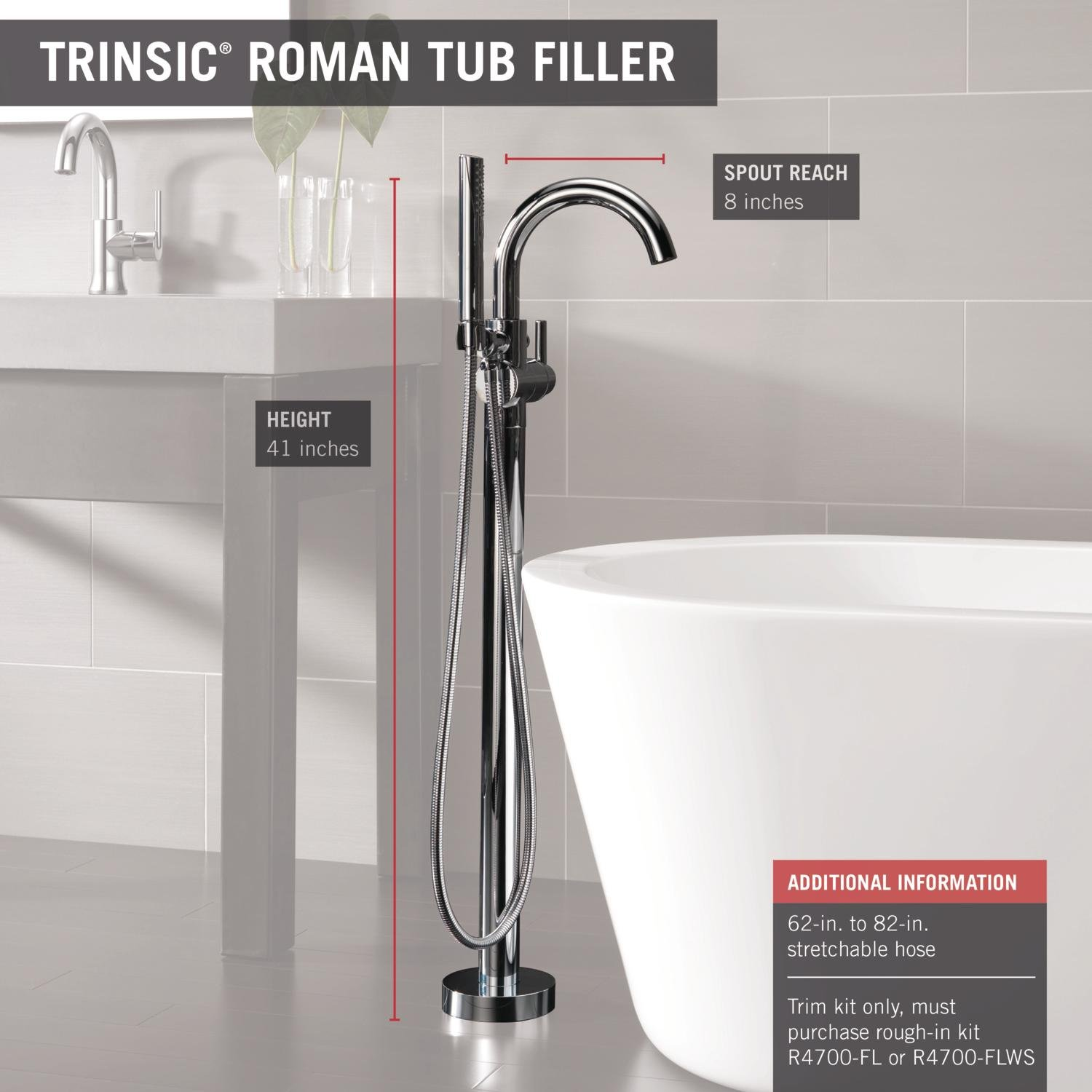 to tub for how mount floor faucet filler a delta youtube watch install freestanding