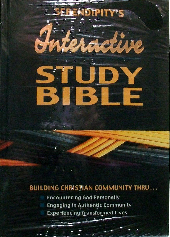 Serendipity Interactive Study Bible Hardcover pdf