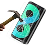 Protection d'écran Samsung Galaxy S8,Bigmeda 9H Dureté Verre Trempé Anti-Scratch [sans bulles Transparent HD Ultra] [Anti Rayures]Film Protection d'écran pour Samsung Galaxy S8