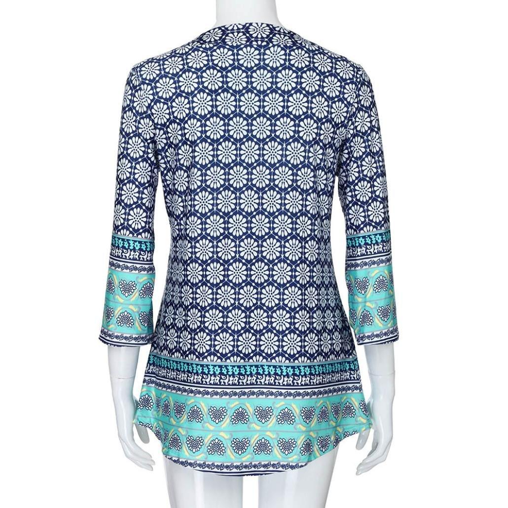 Amazon.com: ¡venta caliente.Blusas Verano para Mujer, Moda ...
