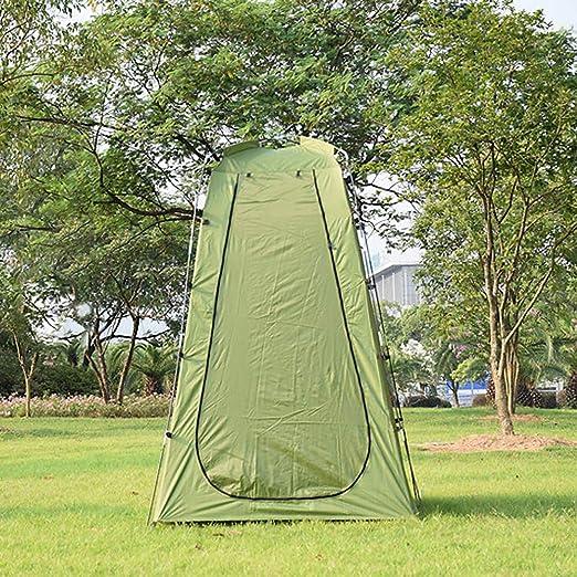 Explopur Tente de Camping pour Faire du v/élo Toilettes Douche Plage