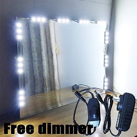 Amazoncom Vechi 5 LED Mirror Light Kit Hollywood Makeup Mirror