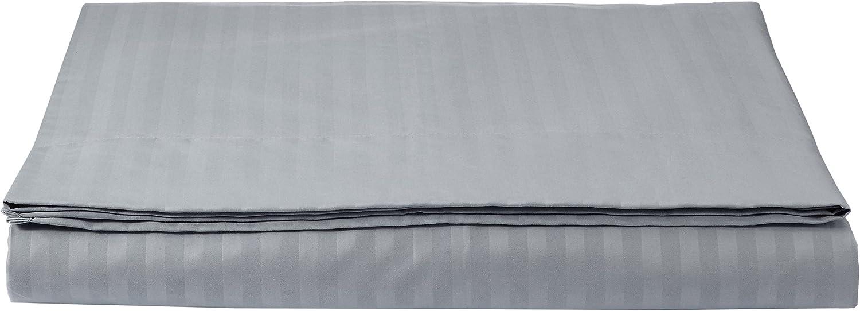Basics Drap plat en microfibre de qualit/é sup/érieure Blanc /éclatant 230 x 260/cm