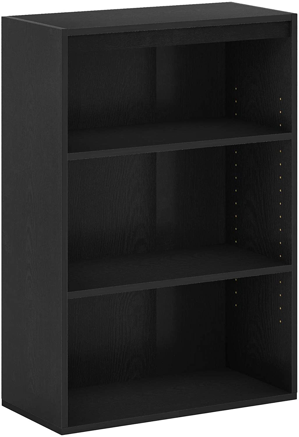 FURINNO Pasir 3-Tier Open Shelf, Blackwood