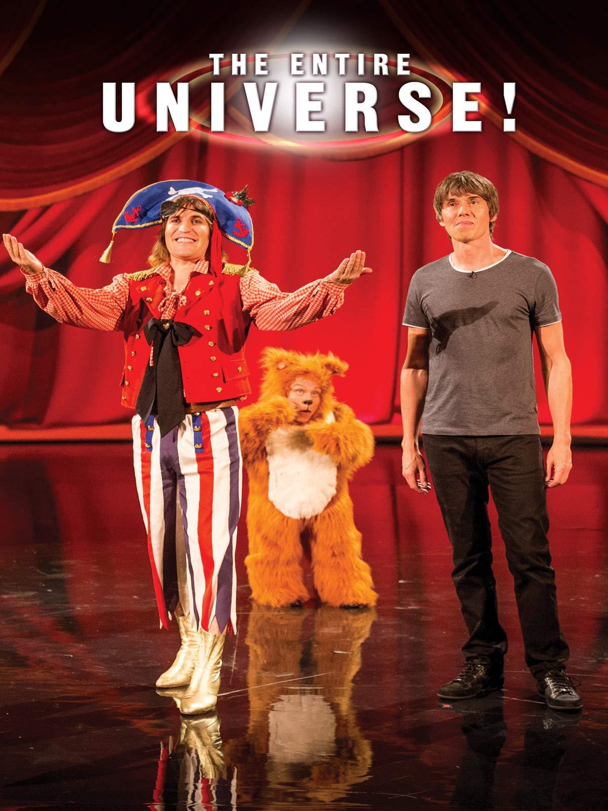Eric Idle & Brian Cox - The Entire Universe on Amazon Prime Video UK