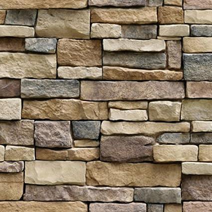 3d Brick Stone Self Adhesive Wallpaper 18 X 39 Pvc Wall Tile