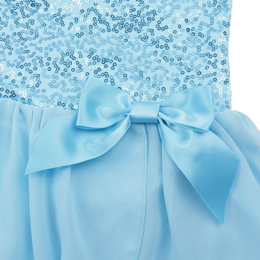 CHICTRY XS-XL Robe de Justaucorps de Danseuse de Ballet Pailleté Filles SZ  2-8  Amazon.fr  Vêtements et accessoires 8bda0ad839f