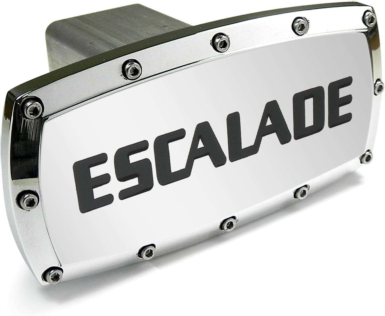 Elite Automotive Compatible With Escalade Billet Aluminum Tow Hitch Cover