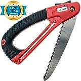 Lanier Hand Pruning Saw - Folding 7 Inch Blade and Ergonomic Handle Make Quick Work Of Garden Tasks