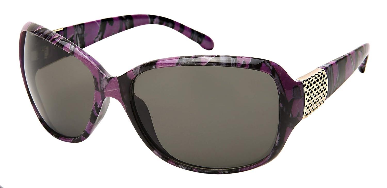 f19afeba7c89 Amazon.com: Edge I-Wear Women Wrap Style Sunglasses Purple Camo Sunglasses  for Women 31991P-SD(PP.sd)): Clothing
