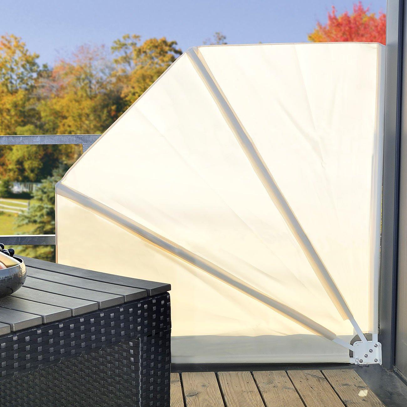 Amazon Royal Gardineer Balkonfächer Sichtschutz Balkon