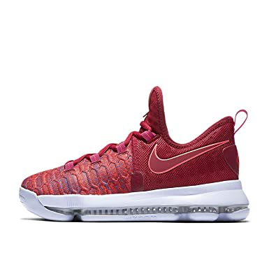 32aab883550c Image Unavailable. Image not available for. Color  Nike Zoom KD9 (GS) Youth Basketball  Shoes ...