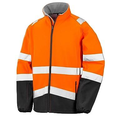 921d04b1548 Result Safeguard Mens Printable Safety Softshell Jacket: Amazon.co.uk:  Clothing