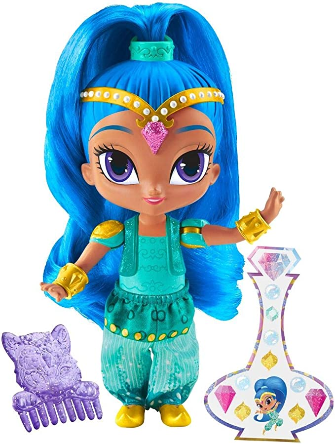 Mattel,Mattel,Shimmer and Shine DLH57 Shine Doll, Multi-Colour, 6-Inch,Mattel,DLH57