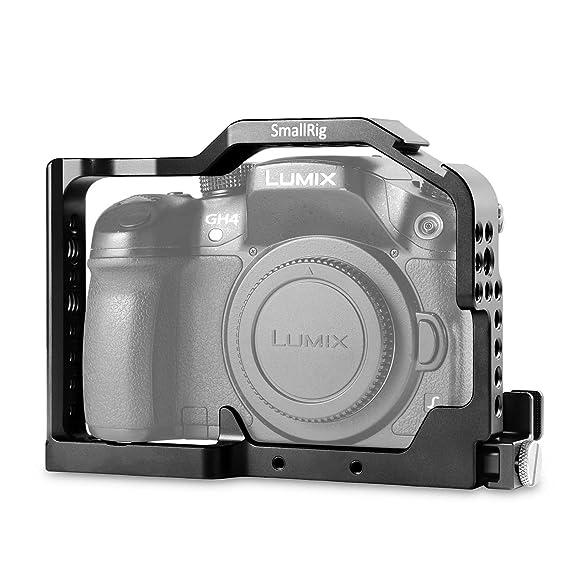 SmallRig Profesional Cámara Jaula para Panasonic Lumix GH4 / GH3 ...