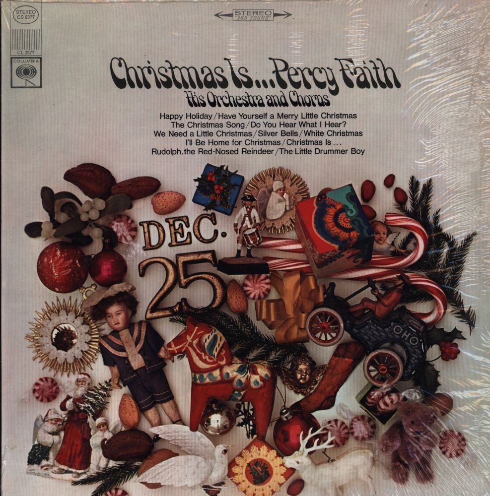 Christmas Is... Percy Faith by Columbia