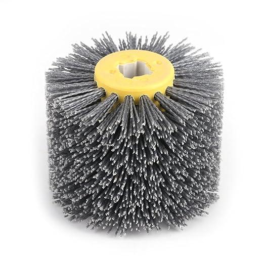 Yosooo Abrasives - Cepillo para llantas de tambor de madera ...