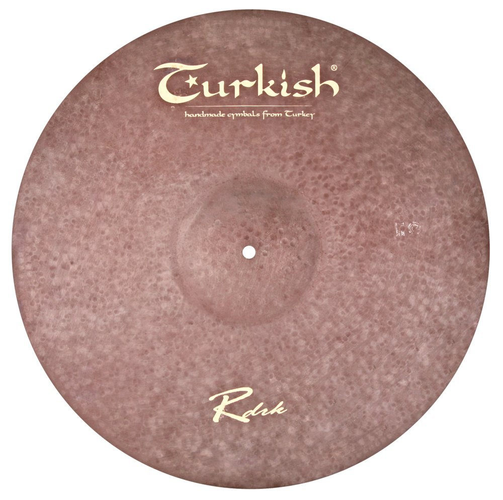Turkish Cymbals Raw Dark Series 22-inch Raw Dark Ride * RDRK-R22   B075C4JN7J