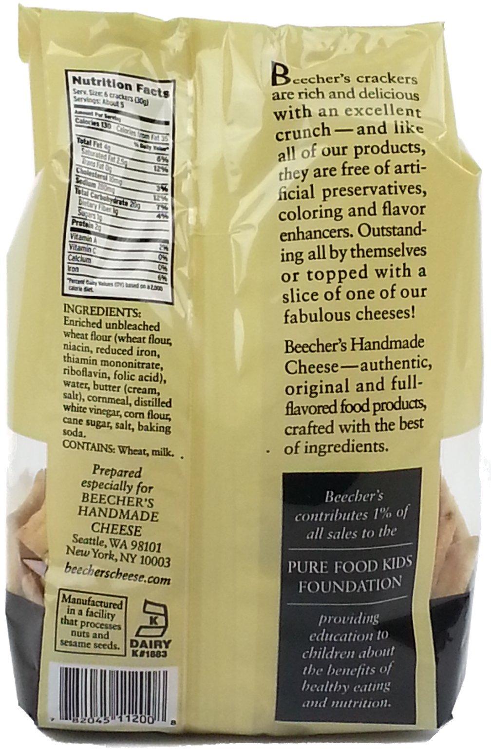 Beecher's Original Crackers , 5 Ounce (Pack of 3) by Beecher's