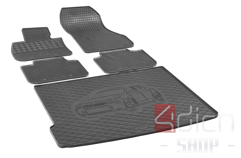 RIGUM Passgenaue Kofferraumwanne geeignet f/ür BMW X2 ab 2018 passen ideal