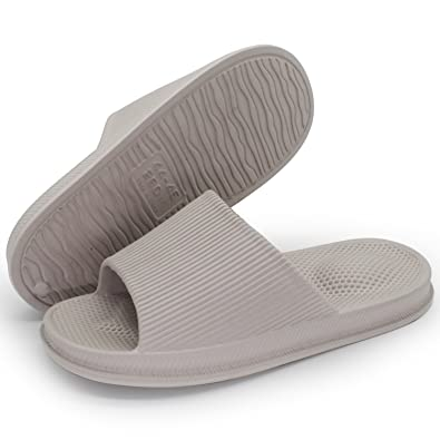 aece915f2afae9 Bathroom Sandals for Men and Women Soft Massage Slippers SPA Sandals  Slippers Thick Slippers (US