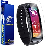 ArmorSuit MilitaryShield - Samsung Gear Fit Screen Protector [Full Coverage][2 Pack] Anti-Bubble Ultra HD Shield w/ Lifetime Replacements