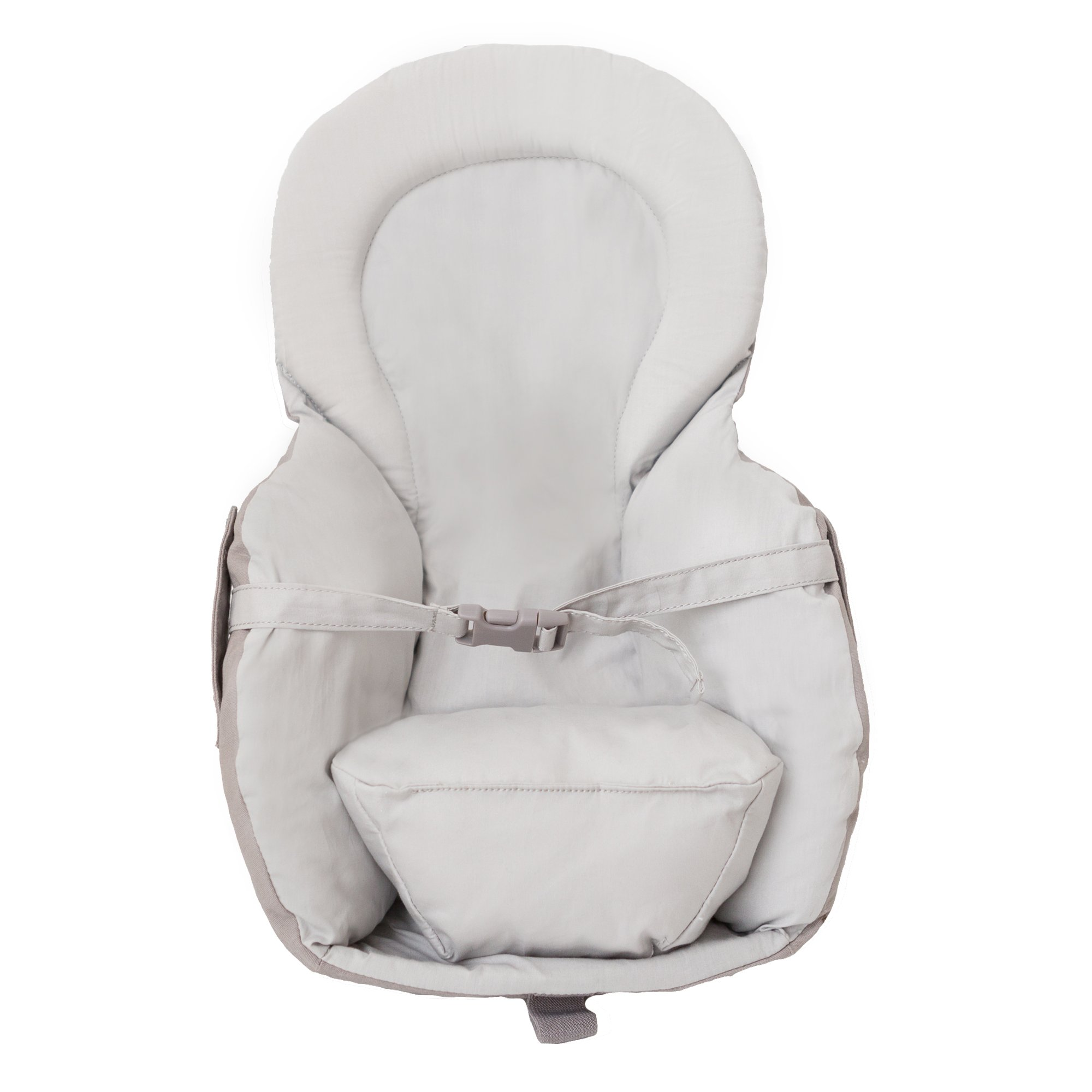 LÍLLÉbaby Infant Insert, Grey - Ergonomic Insert with Removeable Pillow for Baby Carrier
